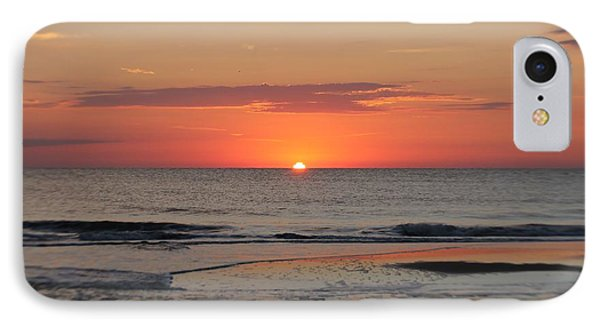 IPhone Case featuring the photograph Orange Sky Dawn by Robert Banach