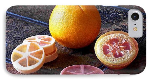 Orange Slices Soap IPhone Case by Anastasiya Malakhova
