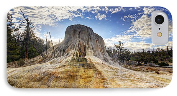 Orange Spring Mound IPhone Case by Mark Kiver