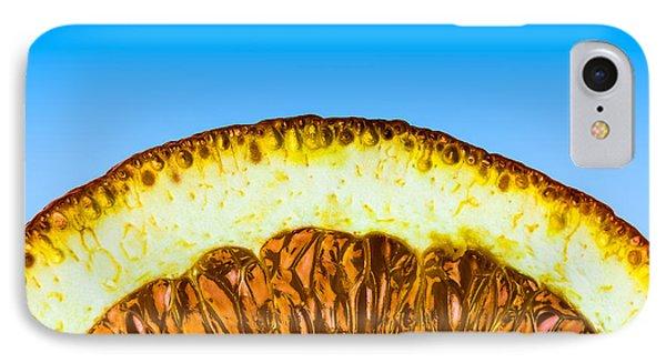 Orange Sunrise Phone Case by Alexander Senin