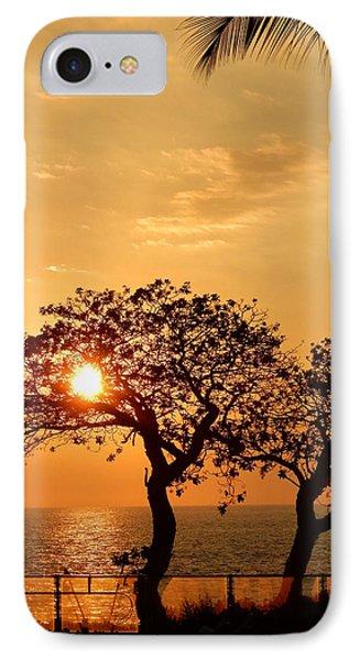 Orange Sunset IPhone Case by Pamela Walton