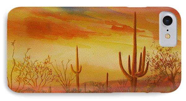 Orange Sunset IPhone Case by Summer Celeste