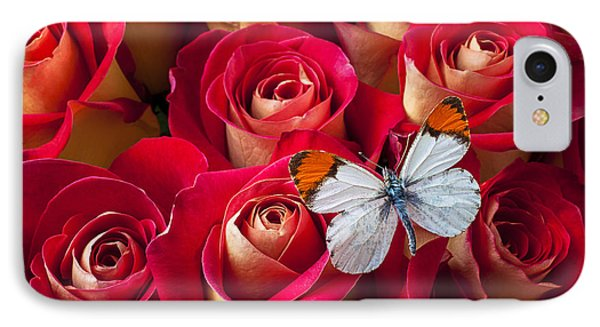 Orange Tip Butterfly Phone Case by Garry Gay