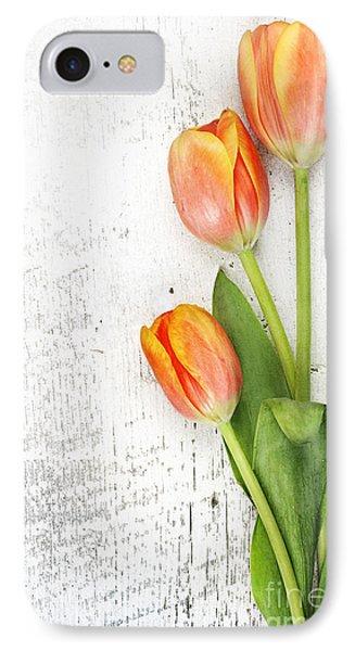 Orange Tulips IPhone Case
