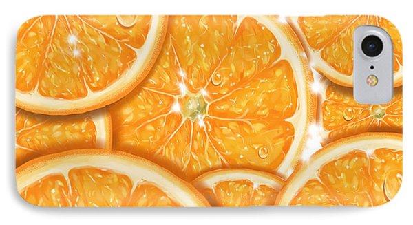 Orange Phone Case by Veronica Minozzi