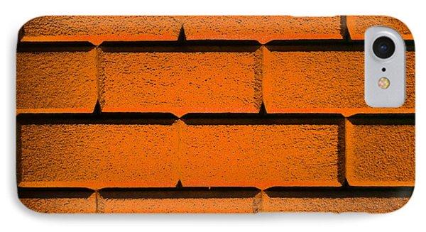 Orange Wall Phone Case by Semmick Photo