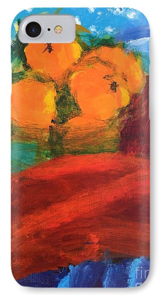 Oranges IPhone Case by Donald J Ryker III