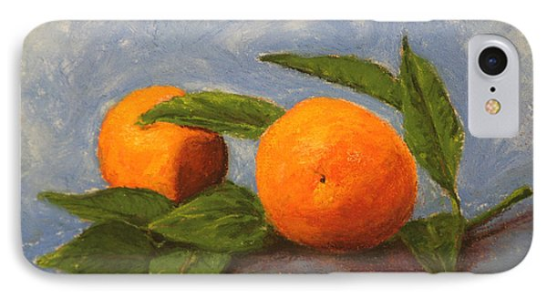 Oranges IPhone Case by Marna Edwards Flavell