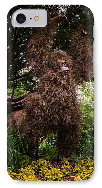 Orangutan IPhone Case by Joan Carroll