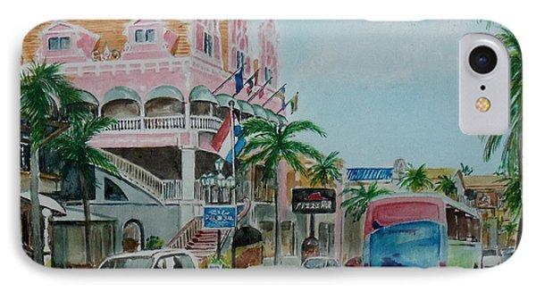 Oranjestad Aruba IPhone Case by Frank Hunter