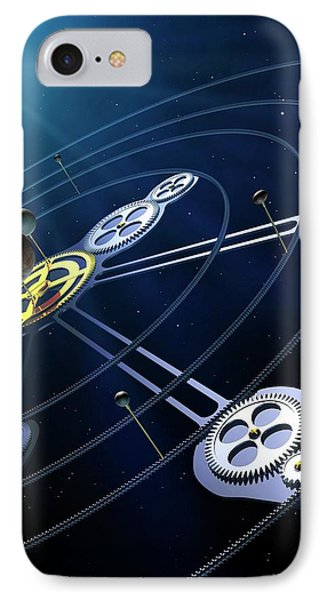 Orbital Resonances In The Pluto System IPhone Case by Mark Garlick
