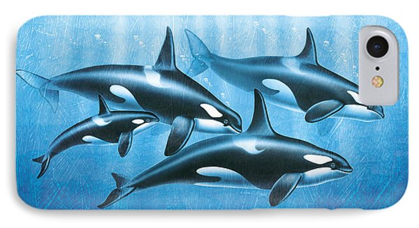 Orca Group Phone Case by JQ Licensing