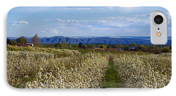 Orchard Country Spring IPhone Case by Mike  Dawson