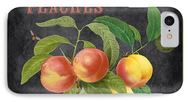 Orchard Fresh Peaches-jp2640 IPhone Case