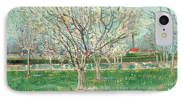 Orchard In Blossom, 1880  IPhone Case