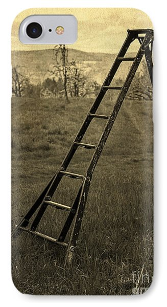 Orchard Ladder Phone Case by Edward Fielding