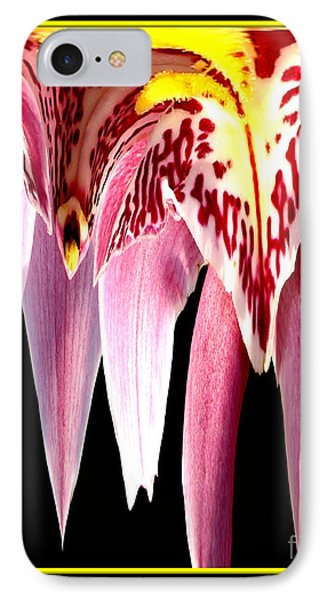 Orchid Abstract Phone Case by Rose Santuci-Sofranko