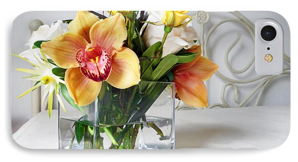 Orchid Bouquet IPhone Case