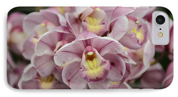 Orchid Bouquet IPhone Case by Penny Lisowski