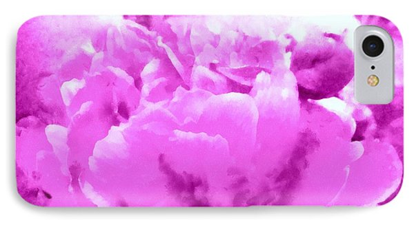 IPhone Case featuring the photograph Orchid Frost Peony by Janine Riley