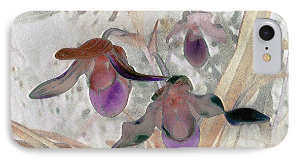Orchid Light IPhone Case by Ann Johndro-Collins