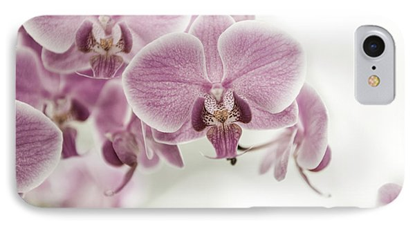 Orchid Pink Vintage Phone Case by Hannes Cmarits