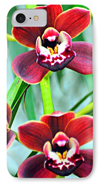 Orchid Rusty Phone Case by Marty Koch