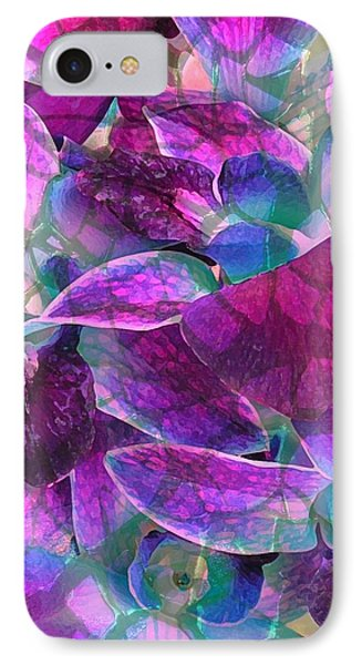 IPhone Case featuring the photograph Orchid Splash by Diane Alexander