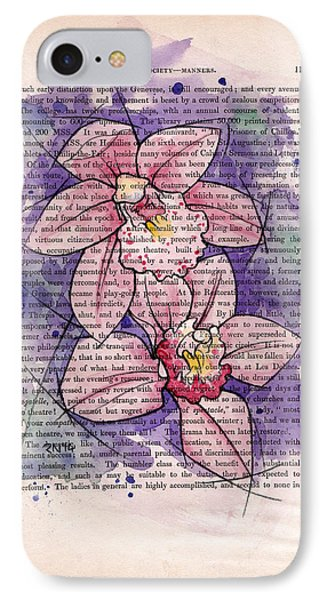 Orchid Study I Phone Case by Rudy Nagel