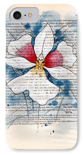 Orchid Study II Phone Case by Rudy Nagel