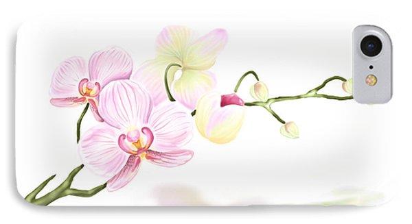 Orchidea IPhone Case by Veronica Minozzi