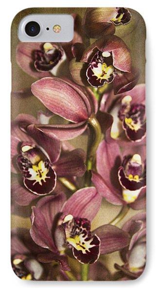 Orchids - Cymbidium  Phone Case by Kerri Ligatich