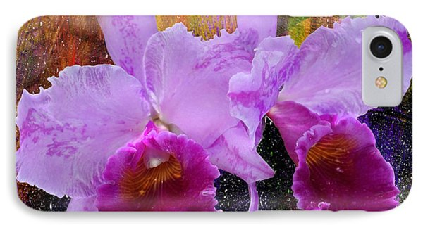 Orchids For Easter IPhone Case by Lena Wilhite