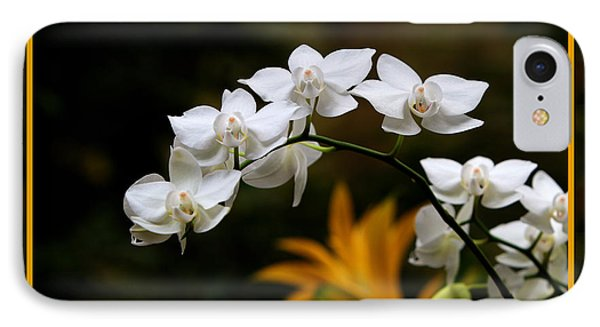 IPhone Case featuring the photograph Orchids by John Freidenberg