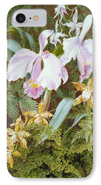 Orchids IPhone Case by Marian Emma Chase