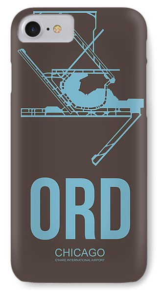 Ord Chicago Airport Poster 2 IPhone Case