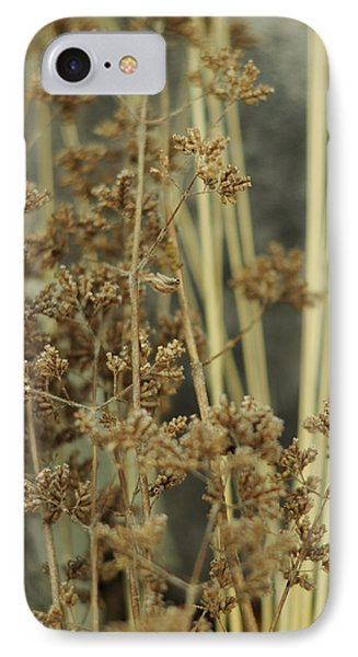 IPhone Case featuring the photograph Oregano In Winter by Rebecca Sherman