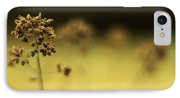 IPhone Case featuring the photograph Oregano Winter Warmth by Rebecca Sherman