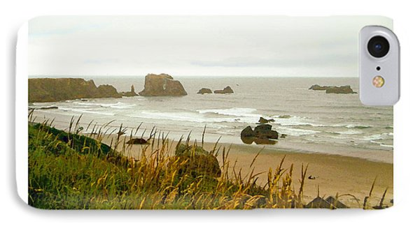 IPhone Case featuring the digital art Oregon Beach by Kenneth De Tore