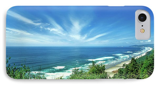 Oregon Coast From Cape Lookout IPhone Case