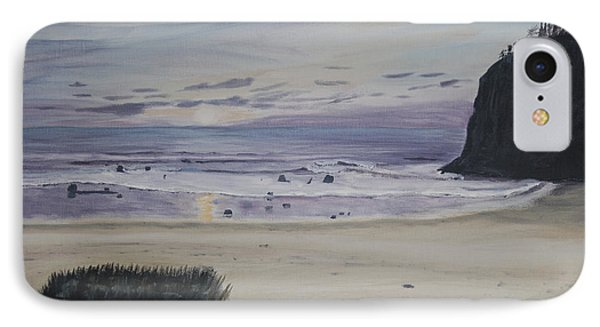 IPhone Case featuring the painting Oregon Coast by Ian Donley