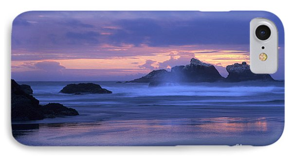 IPhone Case featuring the photograph Oregon Coast Sunset by Chris Scroggins