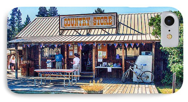 Oregon Country Store Phone Case by Bob and Nadine Johnston