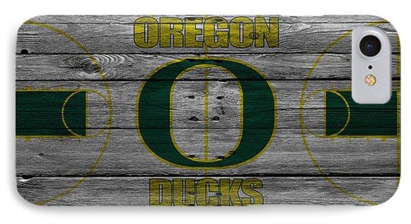 Oregon Ducks IPhone Case by Joe Hamilton