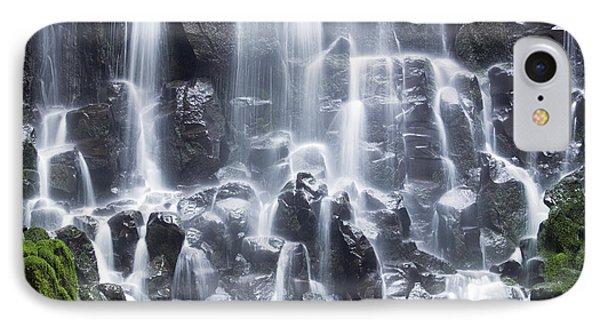 Oregon Ramona Falls IPhone Case by King Wu