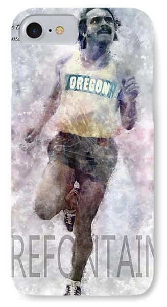 Oregon Running Legend Steve Prefontaine IPhone Case
