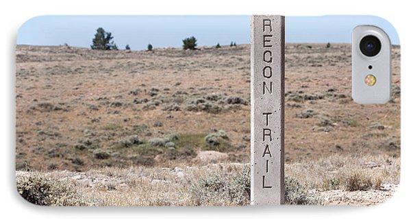 Oregon Trail Marker Phone Case by Cindy Singleton