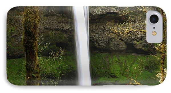 Oregon Waterfall Woodland IPhone Case by Andrea Hazel Ihlefeld