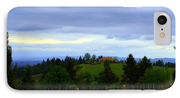 IPhone Case featuring the photograph Oregon Wine Country by Debra Kaye McKrill