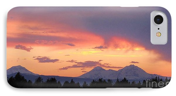 Oregon's Three Sisters  IPhone Case